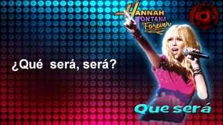 Hannah Montana forever - Que será en español