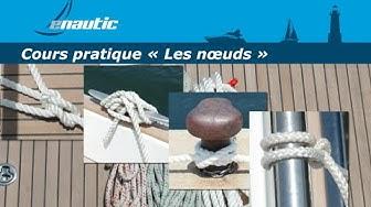 Cours permis bateau   Les nœuds
