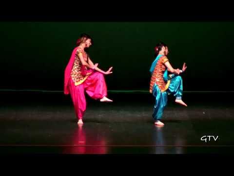 Manpreet & Naina @ Warrior Bhangra 2011