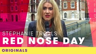 Stephanie Trolls Red Nose Day | Comic Relief Originals