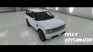 GTA V Fully Customized Gallivanter Baller [RANGE ROVER]