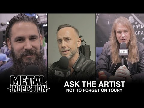 Item Not To Forget On Tour - ASK THE ARTIST | Metal Injection