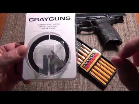 GRAYGUNS HK Short Reset System for HK P30 w/safety install