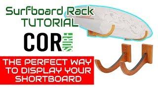 The Cor Single Surfboard Rack Installation Instructions