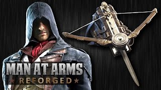 Arno Dorian's Phantom Blade (Assassin's Creed Unity) - MAN AT ARMS: REFORGED(Which weapon will be next? ▻▻ Subscribe! http://bit.ly/AWEsub Get your own Phantom Blade life-size replica, complete with firing crossbow and spring-loaded ..., 2014-11-10T17:59:44.000Z)