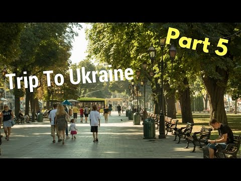 My Trip To Ukraine | Travel Video Part 5 -Lviv and Kiev