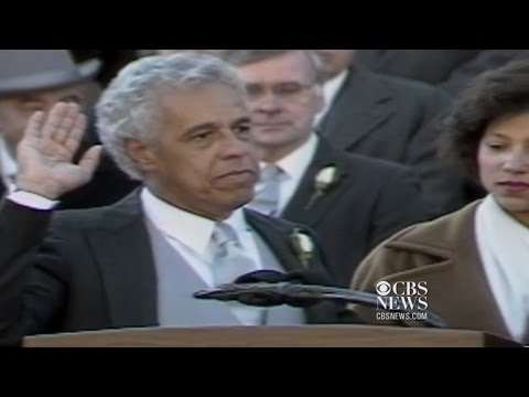 D. K. Smith - January 13, 1990 Douglas Wilder of Virginia becomes first Black governor