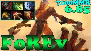 Dota 2 - FoREv 7100 MMR Plays Troll Warlord Vol 1 - Pub Match Gameplay!