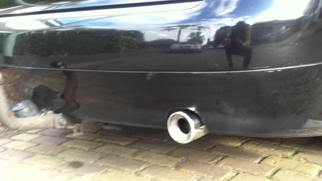 audi a4 2 5 tdi v6 163 ps exhaust sound youtube. Black Bedroom Furniture Sets. Home Design Ideas