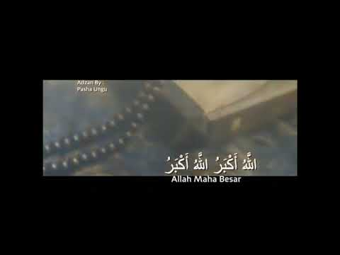 MERINDING Suara Adzan Pasha Ungu lebih indah dari suara kidung