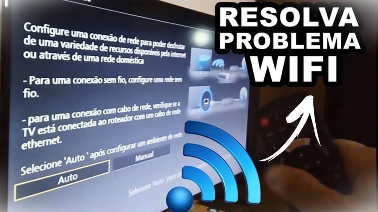 eb33a12351ac5 Como Conectar Smart TV Em outra Rede WiFi Após Mudar a Senha ou Nome da  Rede Wireless