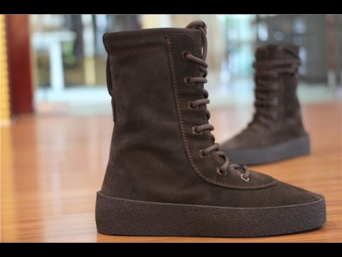 61f74fa73 yeezy season 2 crepe boot oil