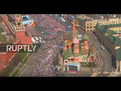 LIVE: International Workers' Day celebrations in Moscow's Red Square