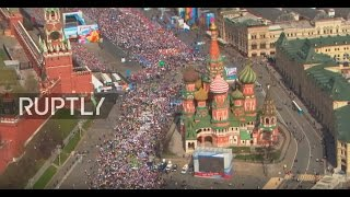 LIVE  International Workers' Day celebrations in Moscow's Red Square