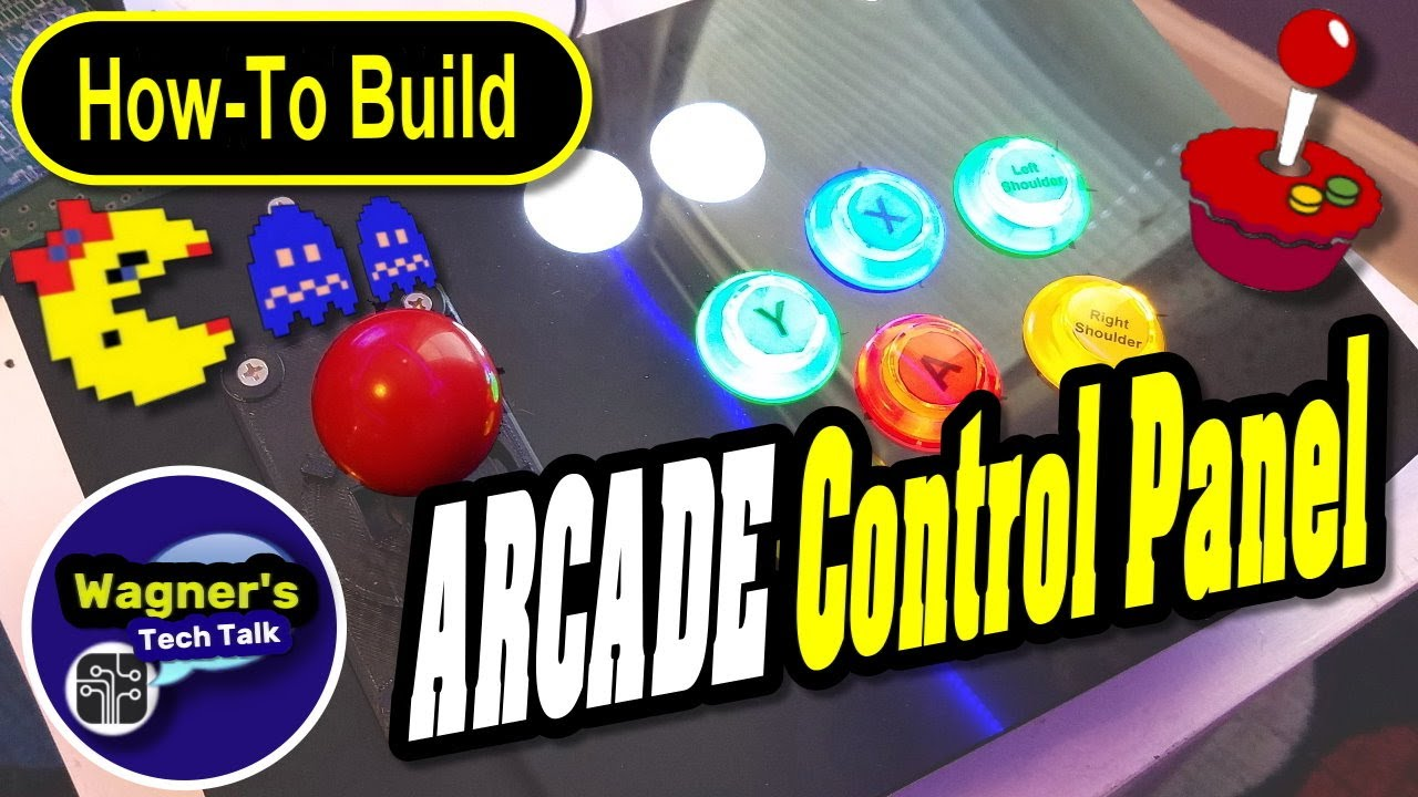 How To: Build a RetroPie ARCADE Joystick + Control Panel - Play those  classic RETRO GAMES!