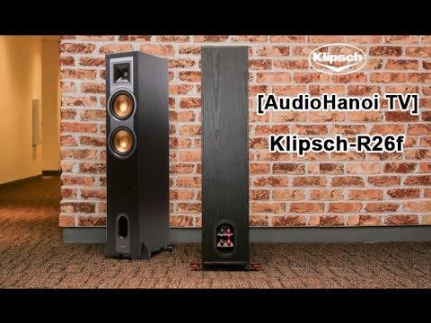 Bộ Nghe Nhạc Phối Ghép - Loa Klipsch R26F (Nghệ Thuật Thưởng Thức)