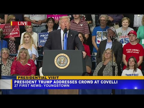 """Trump speaks on jobs in the Valley: """"Don't sell your house"""""""