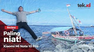 Review Xiaomi Mi Note 10 Pro Indonesia - kamera 108 MP bisa buat cetak banner