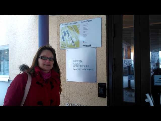 Lahdensivun kampuksella (Katja, ensimmäisen viikon video)