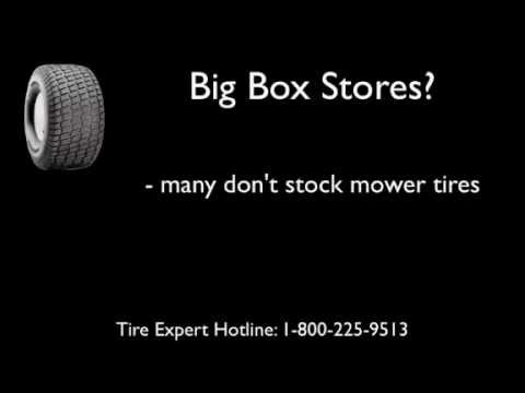 where is the best place to buy mower tires youtube. Black Bedroom Furniture Sets. Home Design Ideas