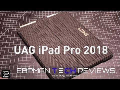First Review Urban Armor Gear Metropolis Case 2018 Apple IPad Pro 12.9 & 11