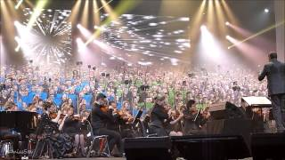 Les 2000 Choristes - O Fortuna extrait de Carmina Burana @ Lorraine de Choeur - 08.11.13