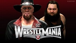 WWE Wrestlemania 31 : The Undertaker vs Bray Wyatt - The Deadman Returns! - (WWE 2K15)