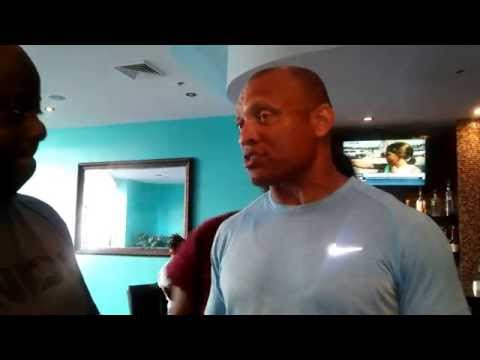 NFL HALL OF FAME PASTOR AENEAS WILLIAMS WITH PASTOR TIM BOSTICK_ 8-3-15