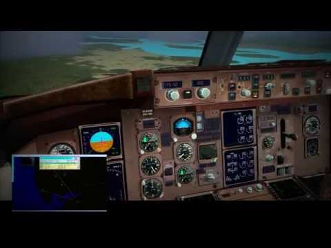 IVAO - LH Worldtour 2015 - Leg 12 - London to Freetown (B767)