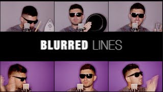 Robin Thicke - BLURRED LINES (Daniel de Bourg rendition)