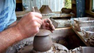 Throwing A Pottery Birdhouse Bird Feeder Part 2