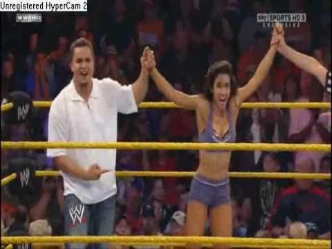 A tribute video to AJ Lee  on NXT season 3...