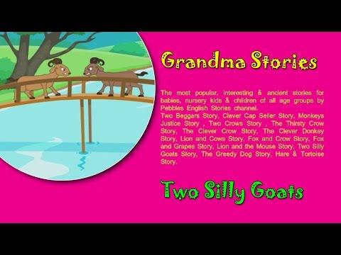 Two Goats | Grandma Stories Gujarati For Kids HD | Dadimaa Ni Varta | Gujarati Stories