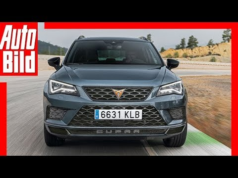 ateca cupra by seat 2018 erste fahrt test review. Black Bedroom Furniture Sets. Home Design Ideas
