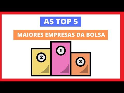 As Top 5 Maiores Empresas da Bolsa