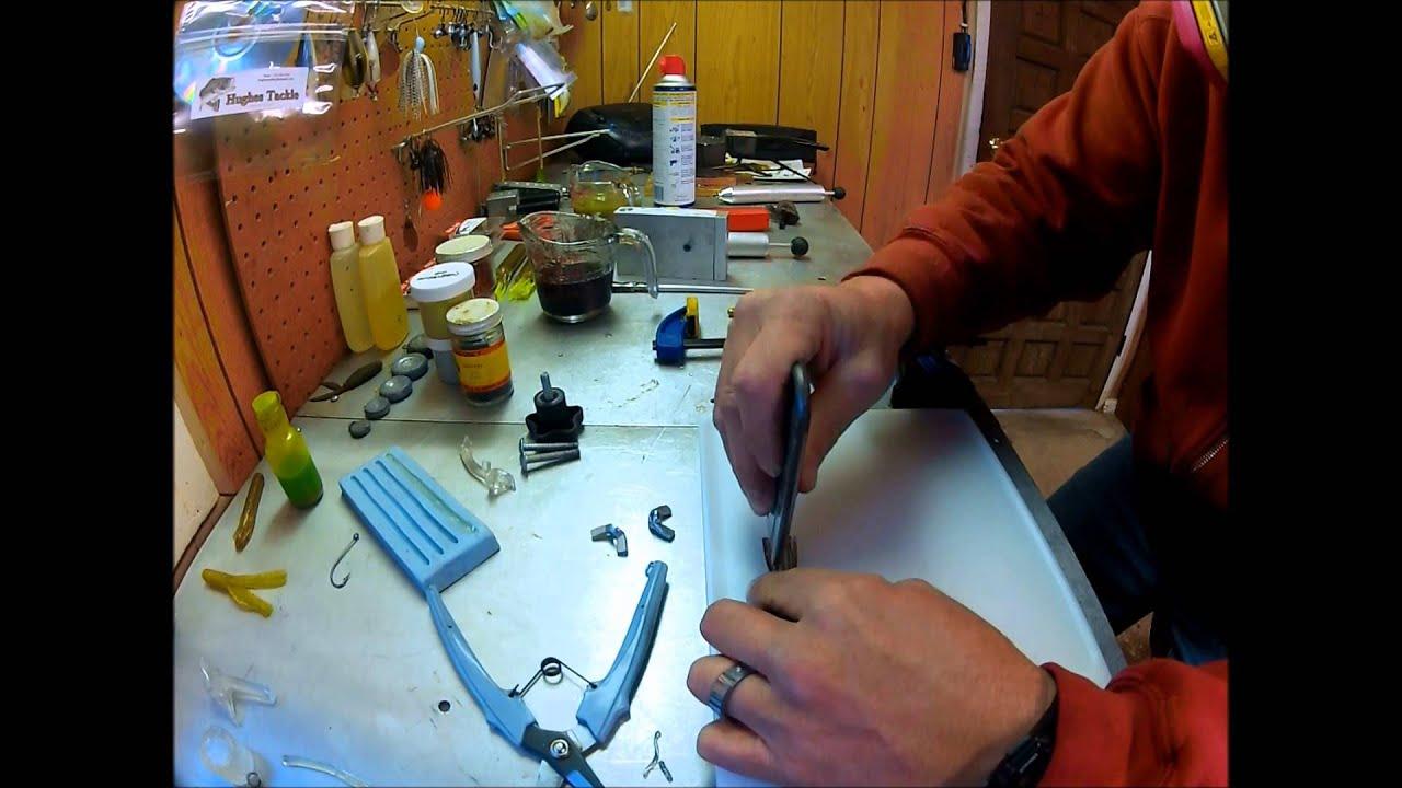 making custom tube baits - youtube, Soft Baits