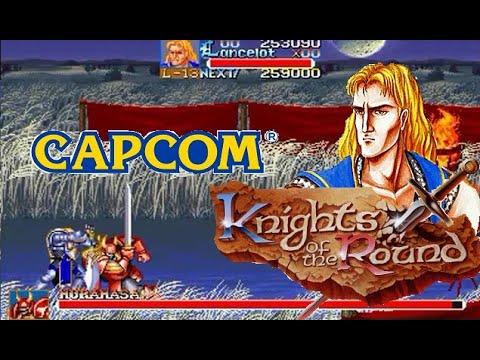 Knights of the Round arcade Lancelot Lev7 Hardest no Heavy attack no death playthrough