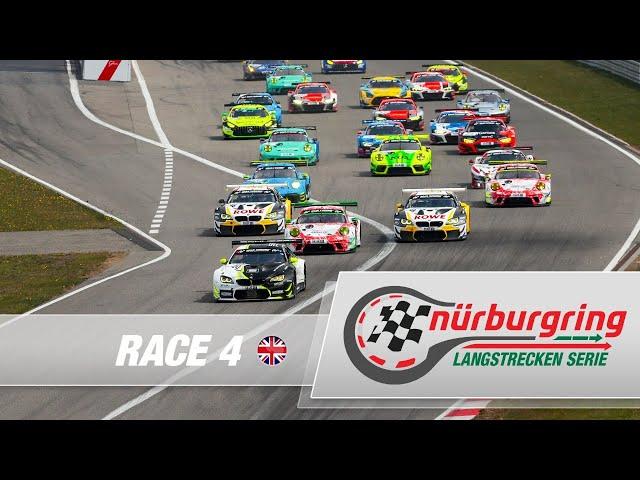 LIVE: Race 4 Nürburgring Endurance Series (NLS) 2021