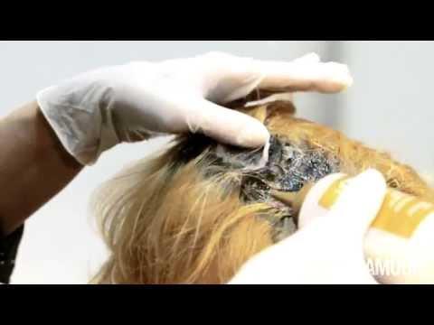 Колорирование волос.Coiffance Professionnel