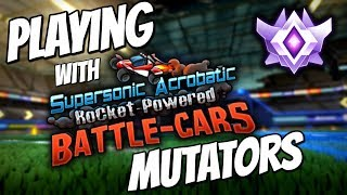 King of the Hill w/ SARPBC Mutators!   Grand Champion 1v1 (Rocket League Gameplay)