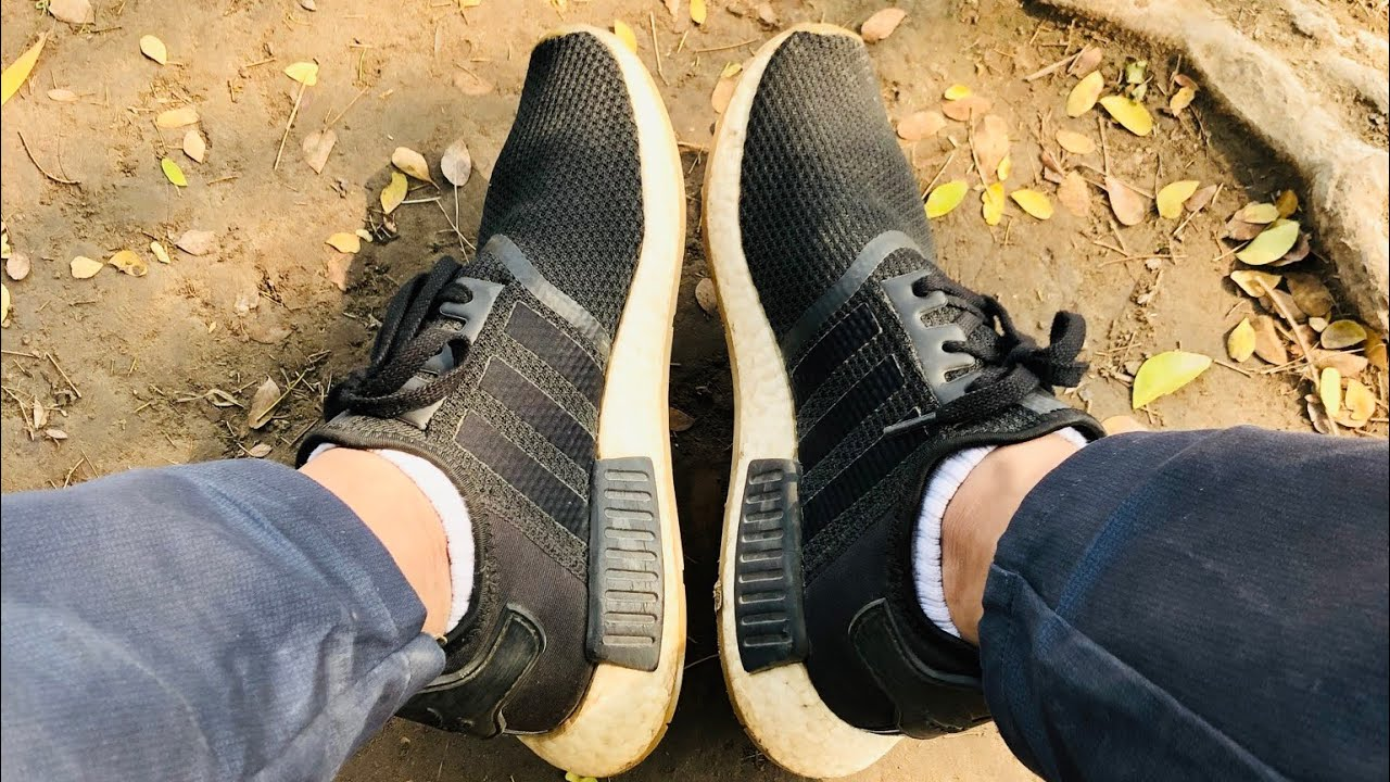 adidas NMD R1 Gum Sole Core Black
