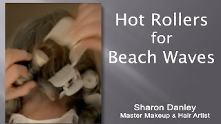 Hot Rollers for Beach Waves - Fast & Easy