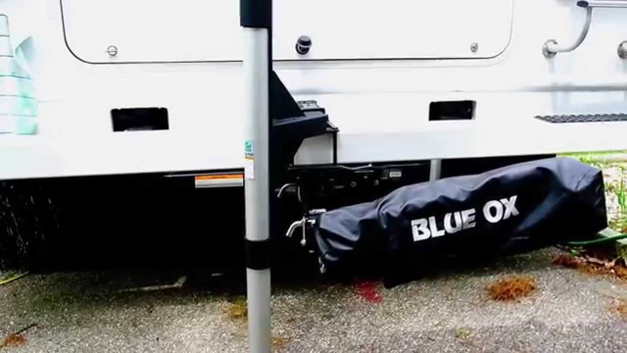 Hitch mounted Harbor Freight Flagpole for my RV. - YouTube