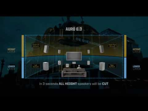AURO 3D Demo DTS-HD MA 5.1  AURO 11.1