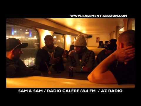 LUNIK - INTERVIEW SAM & SAM / RADIO GALÈRE 88.4 FM ET AZ RADIO