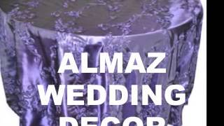 Almaz wedding decor, Ethiopian/Eritrean wedding in USA, Habesha wedding decor