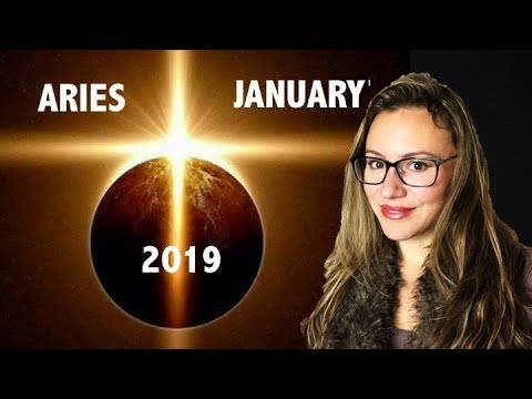 ARIES January 2019  CHARGE AHEAD! You have the POWER! ECLIPSE Brings NEW  Beginnings in CAREER