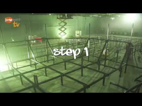 How to build a trampoline park - step 1