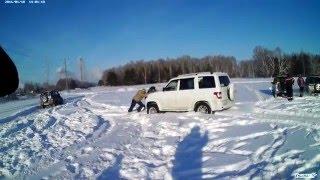 3D NIVA катаемся  по глубокому снегу Дайхацу Териос рулит