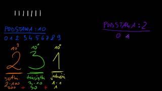 Systemy liczbowe 1/8 - system dwójkowy